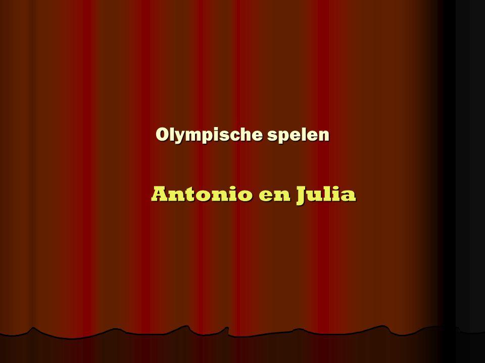 Olympische spelen Antonio en Julia
