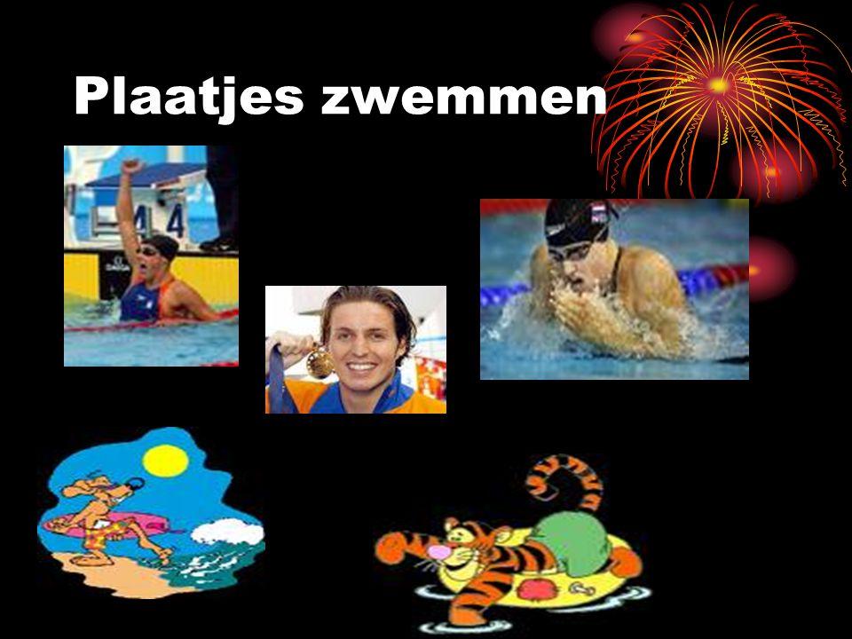 Plaatjes zwemmen