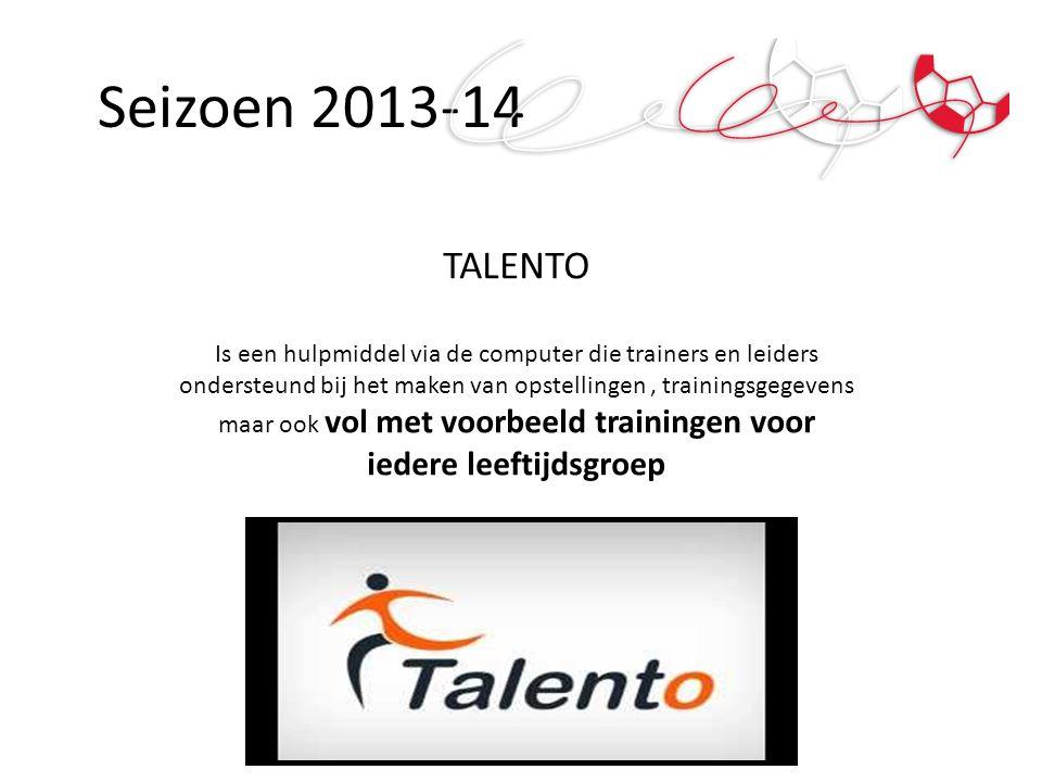 Seizoen 2013-14 TALENTO.