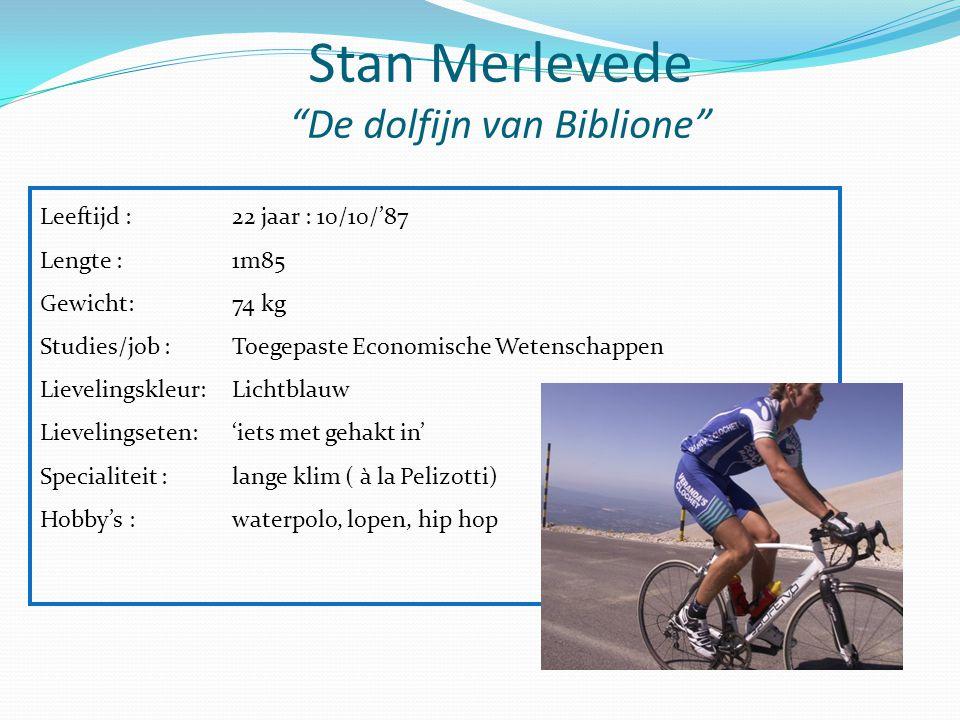 Stan Merlevede De dolfijn van Biblione
