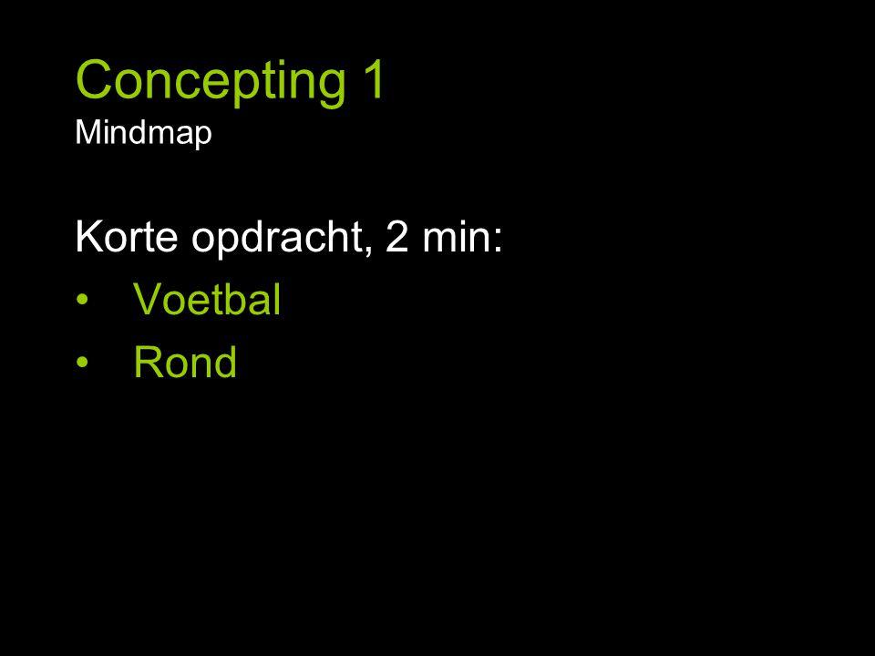 Korte opdracht, 2 min: Voetbal Rond