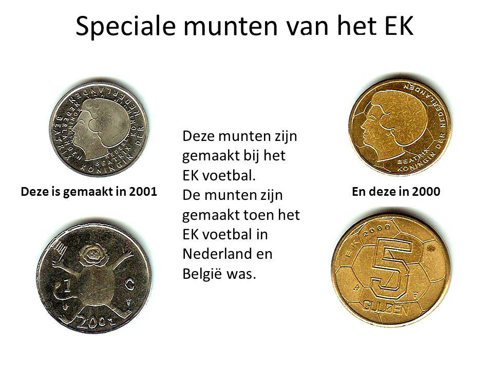 Speciale munten van het EK
