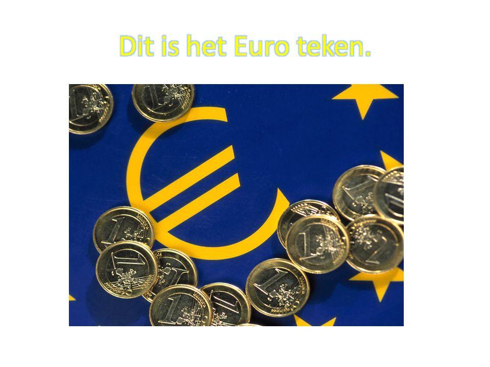 Dit is het Euro teken.