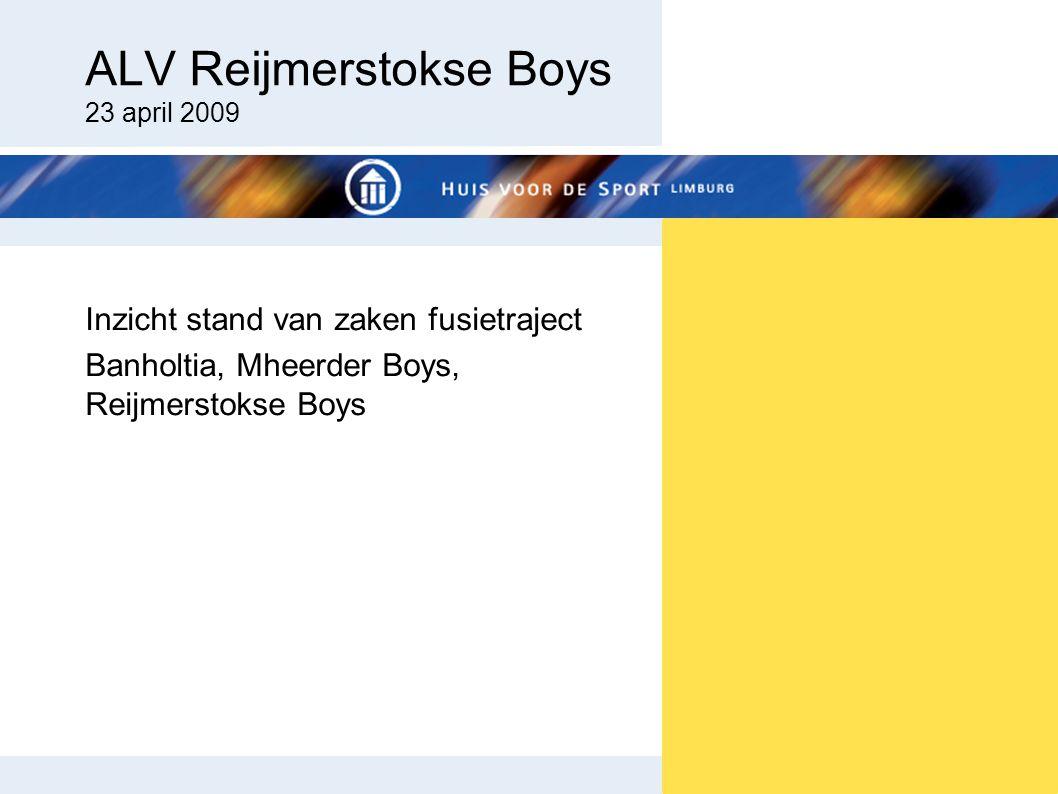 ALV Reijmerstokse Boys 23 april 2009