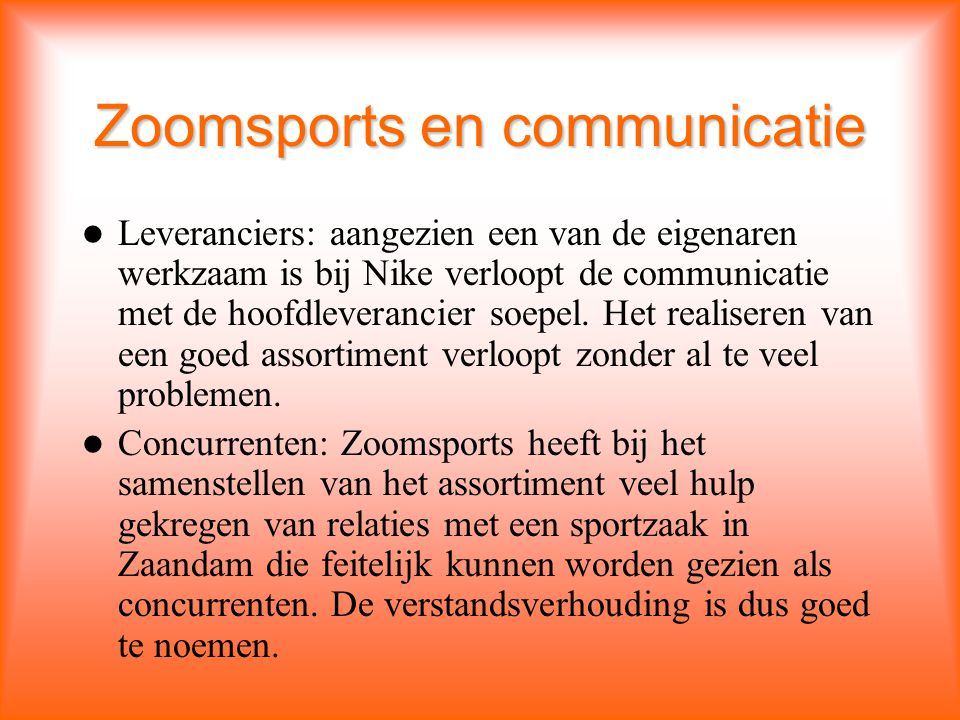 Zoomsports en communicatie