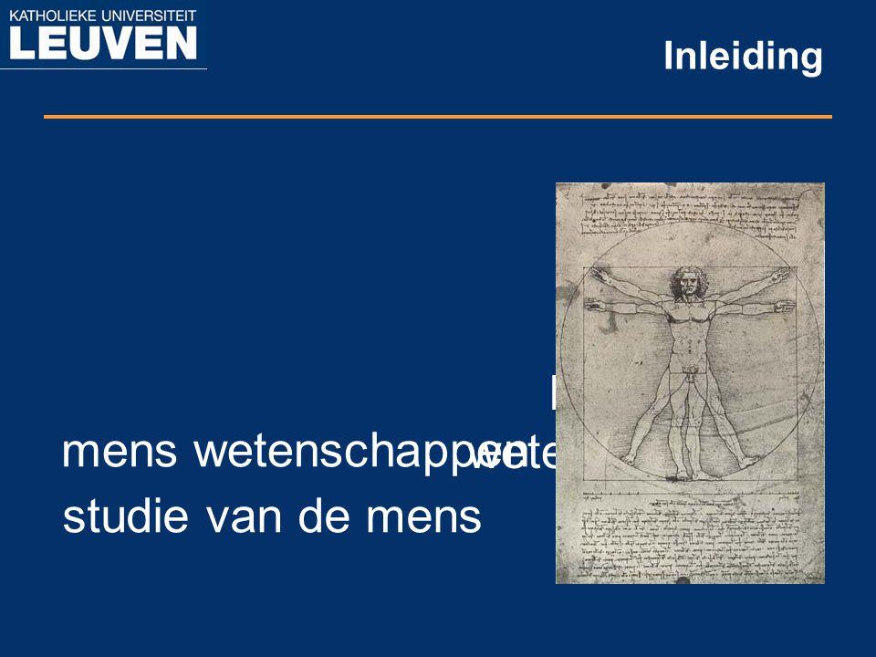 Inleiding humane wetenschappen mens wetenschappen studie van de mens