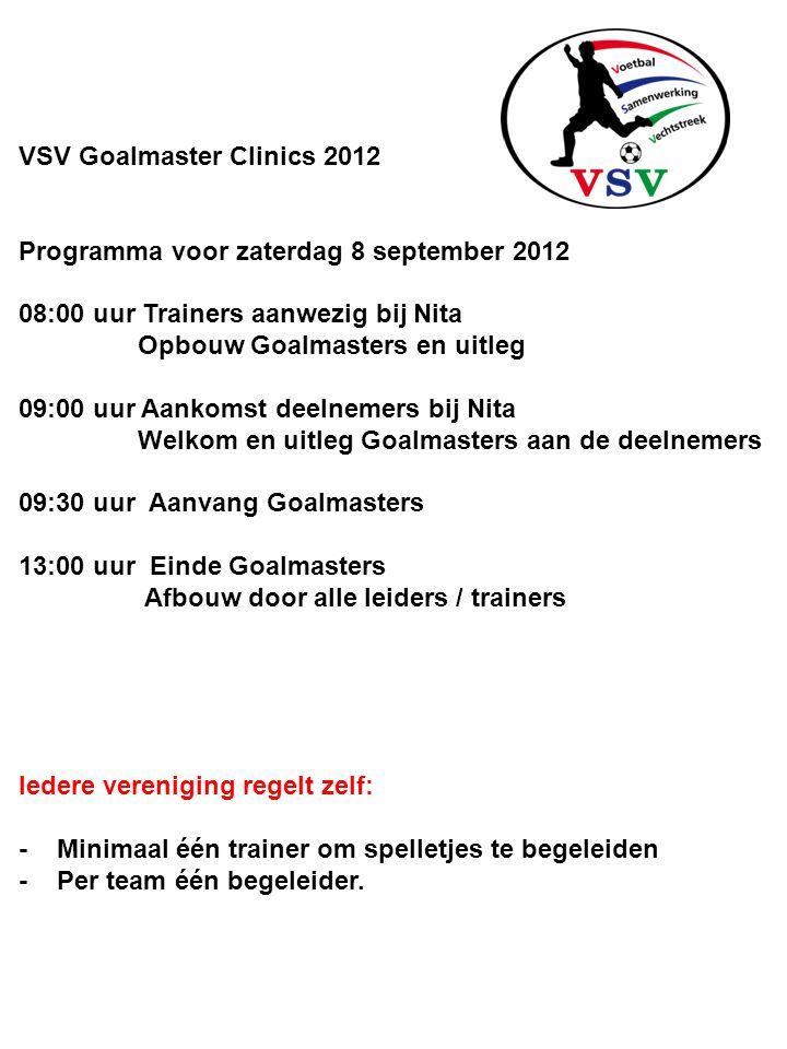VSV Goalmaster Clinics 2012