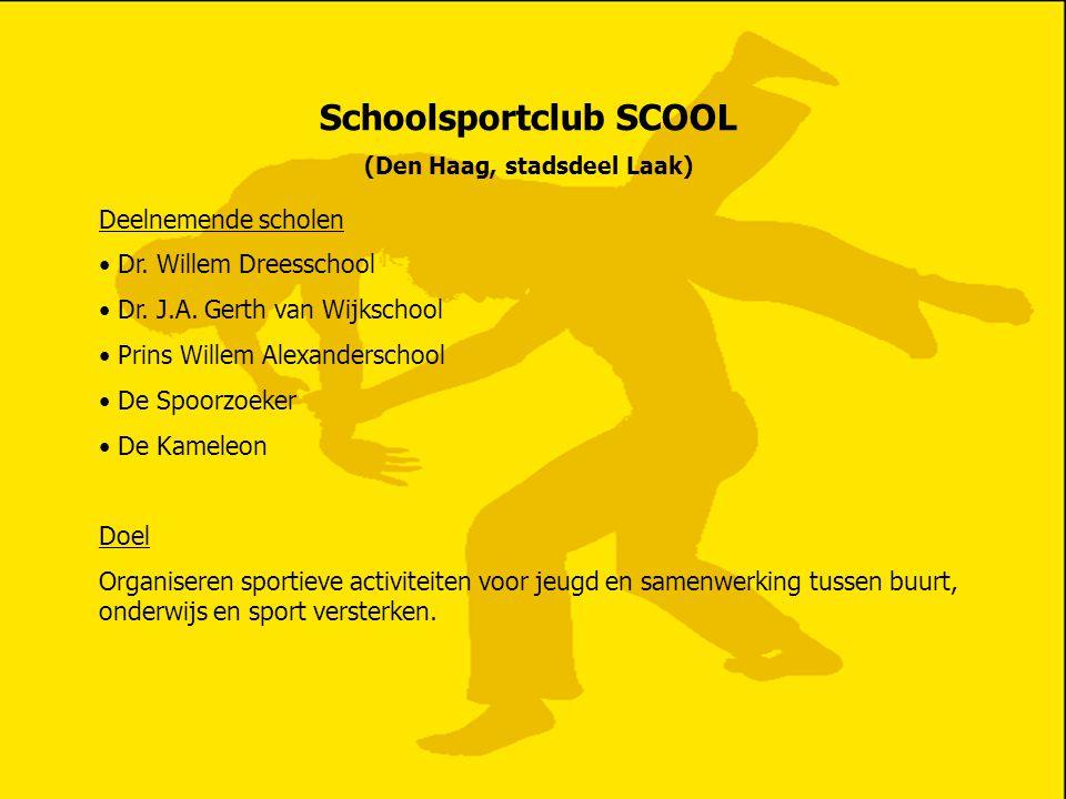 Schoolsportclub SCOOL (Den Haag, stadsdeel Laak)