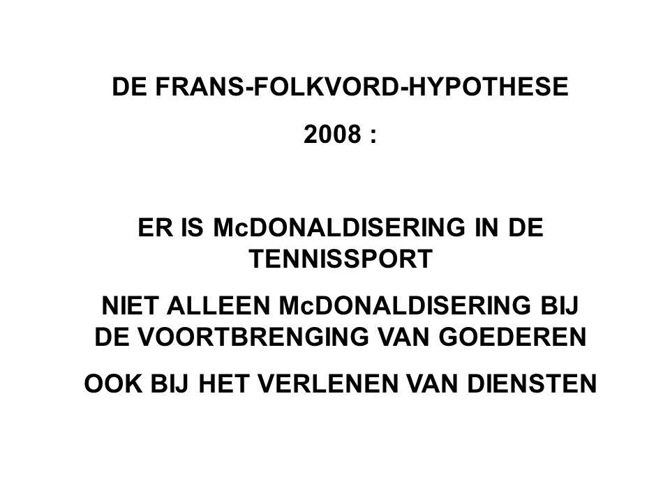DE FRANS-FOLKVORD-HYPOTHESE 2008 :