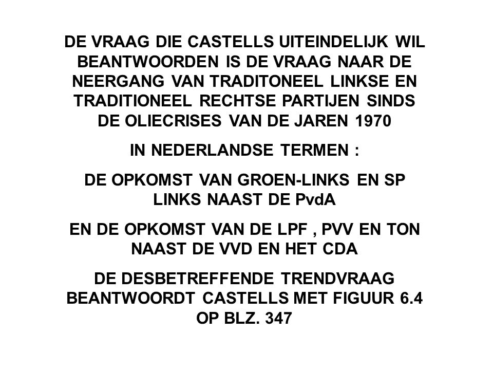 IN NEDERLANDSE TERMEN :