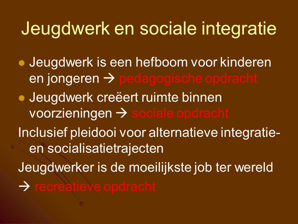 Jeugdwerk en sociale integratie