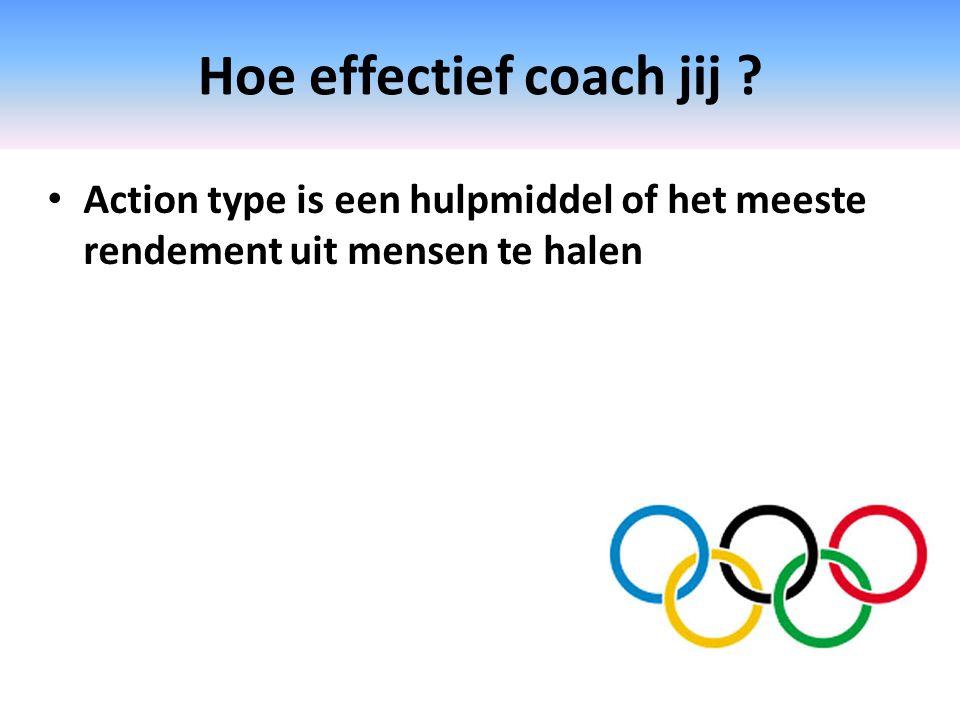 Hoe effectief coach jij