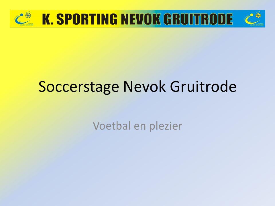 Soccerstage Nevok Gruitrode