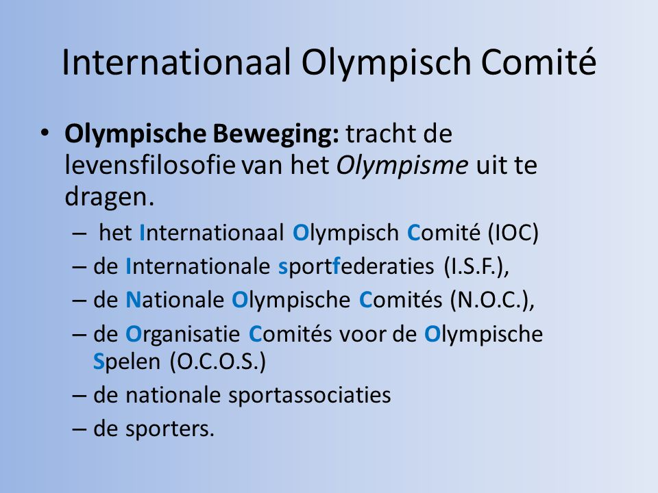 Internationaal Olympisch Comité