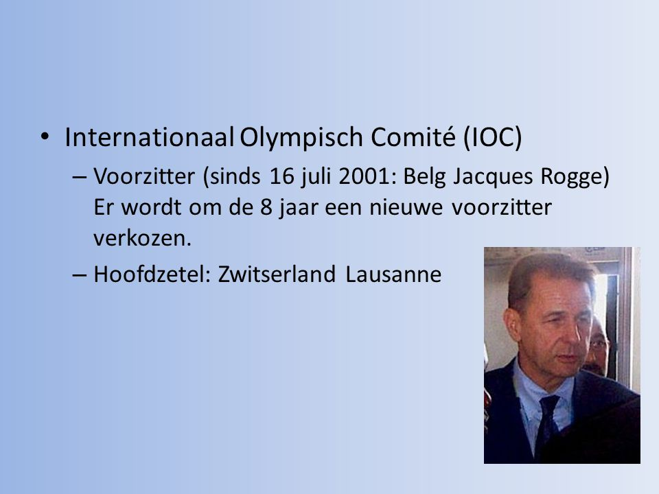 Internationaal Olympisch Comité (IOC)