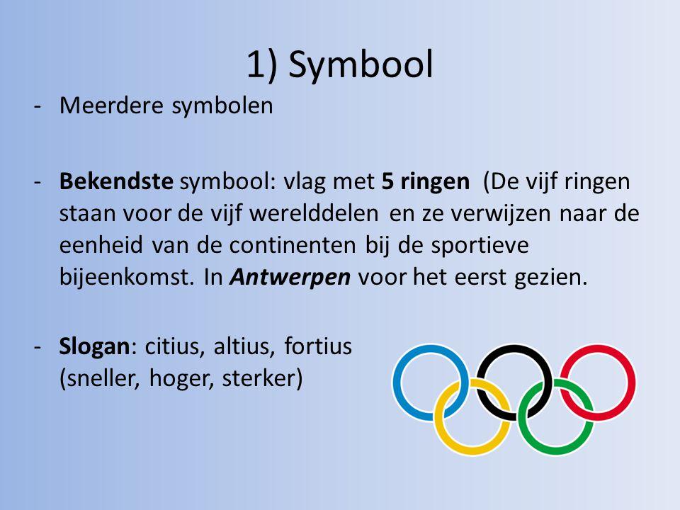 1) Symbool Meerdere symbolen