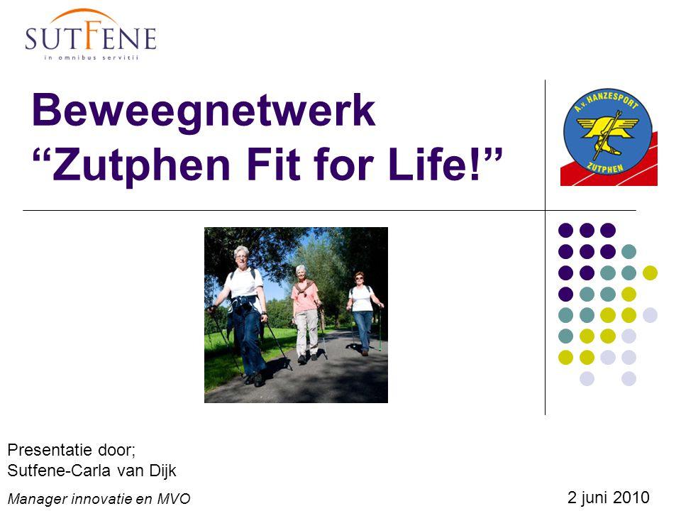Beweegnetwerk Zutphen Fit for Life!