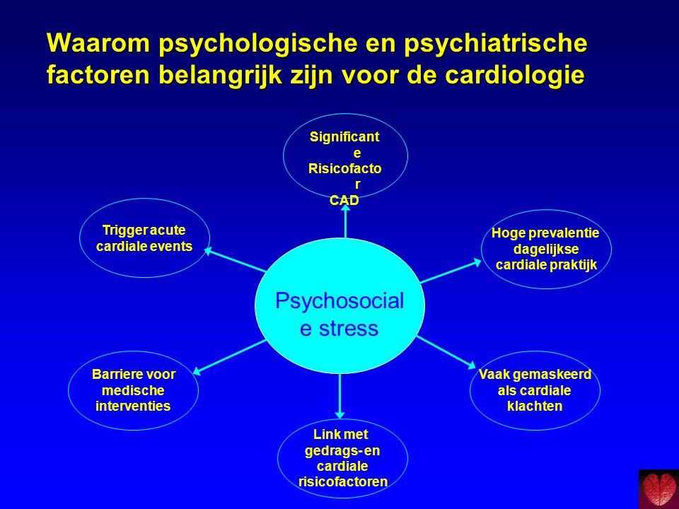 Waarom psychologische en psychiatrische factoren belangrijk zijn voor de cardiologie