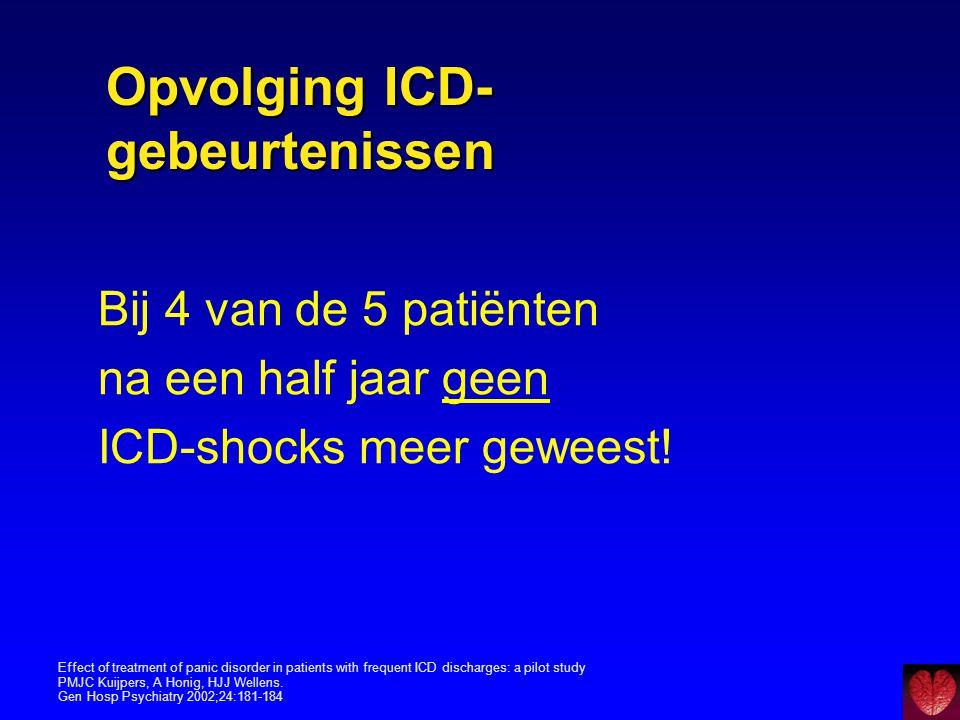 Opvolging ICD-gebeurtenissen
