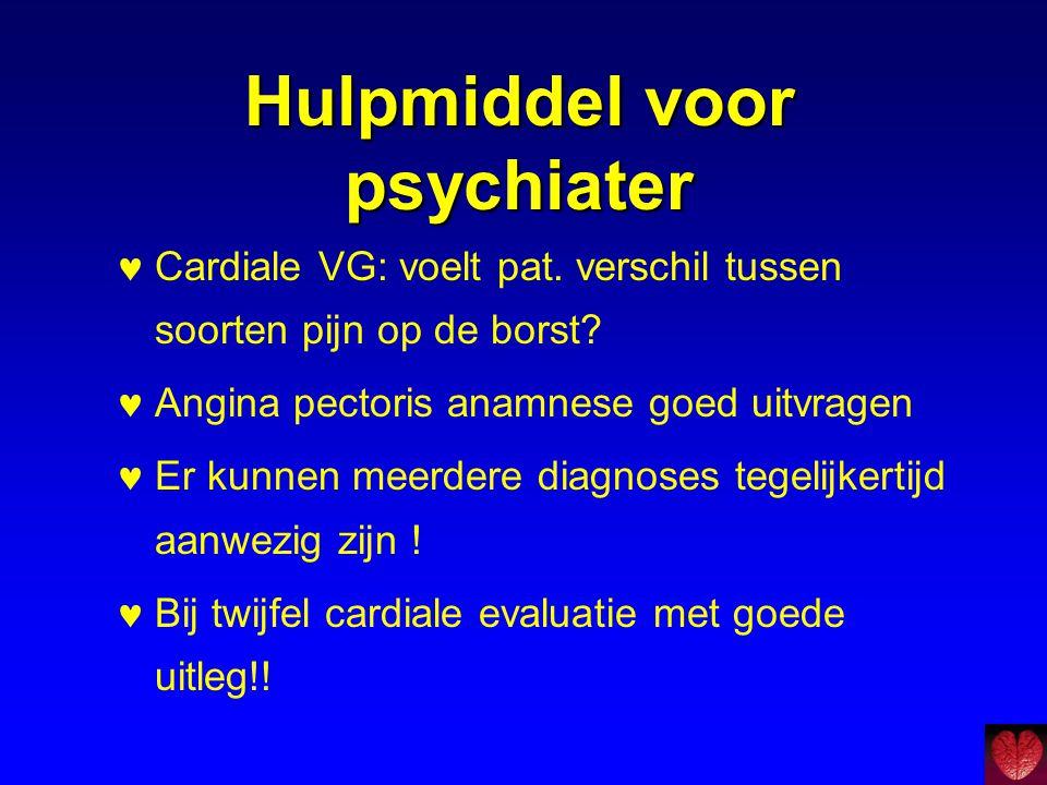 Hulpmiddel voor psychiater