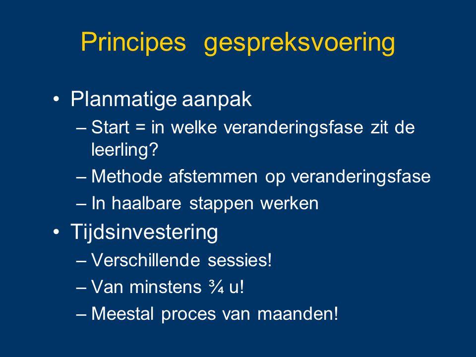 Principes gespreksvoering
