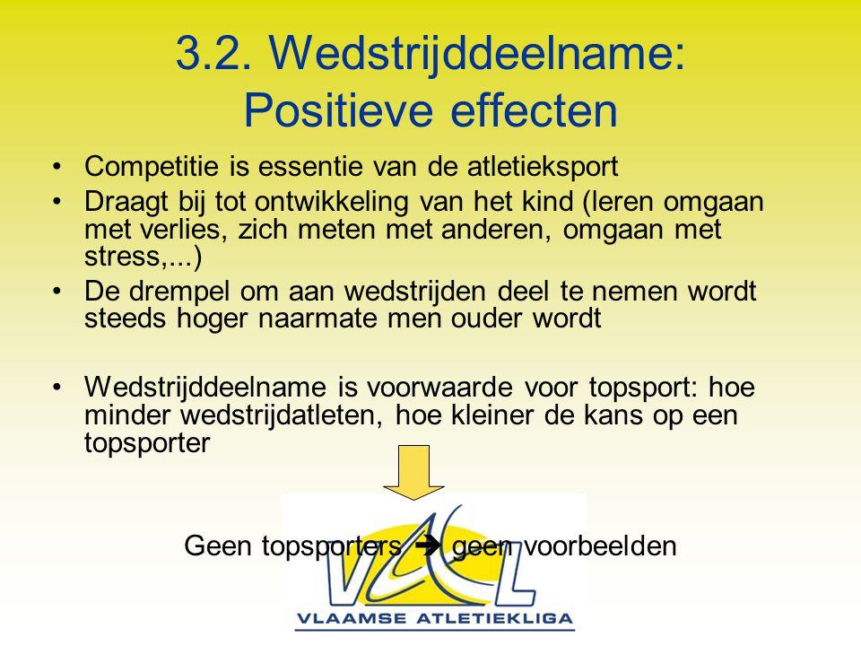 3.2. Wedstrijddeelname: Positieve effecten