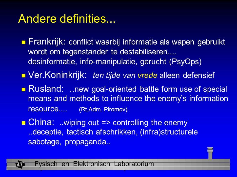 Andere definities...
