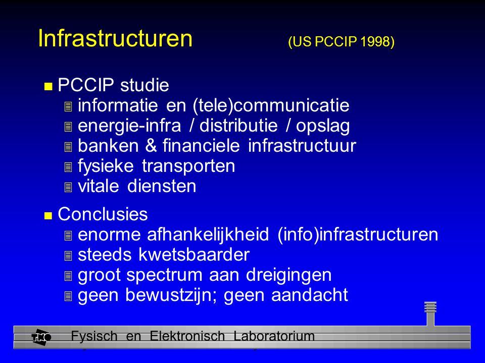 Infrastructuren (US PCCIP 1998)