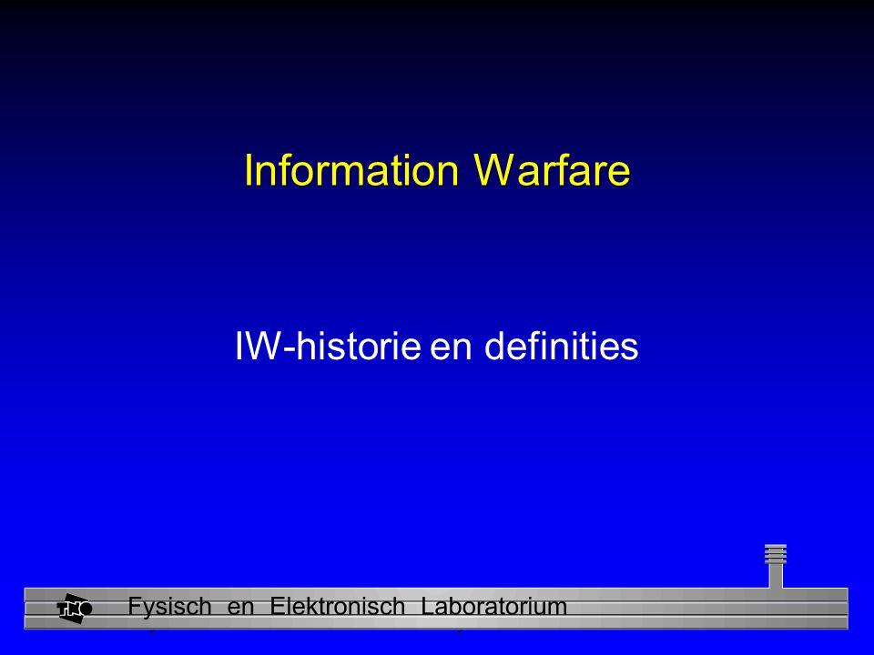 IW-historie en definities