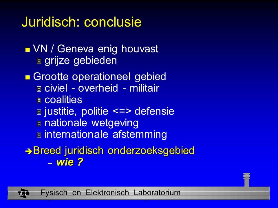 Juridisch: conclusie VN / Geneva enig houvast grijze gebieden