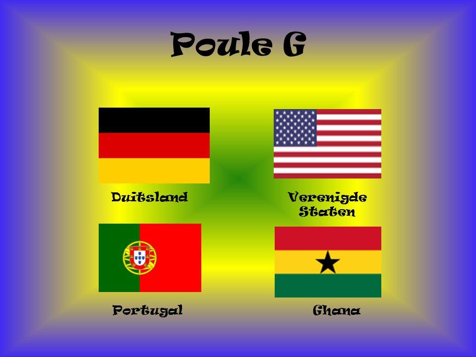 Poule G Duitsland Verenigde Staten Portugal Ghana