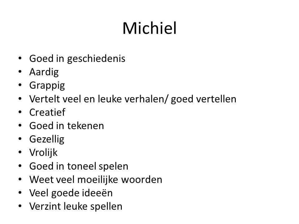 Michiel Goed in geschiedenis Aardig Grappig