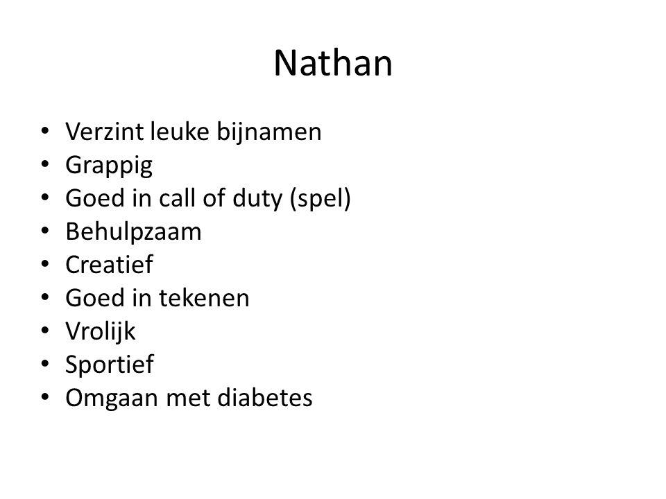 Nathan Verzint leuke bijnamen Grappig Goed in call of duty (spel)