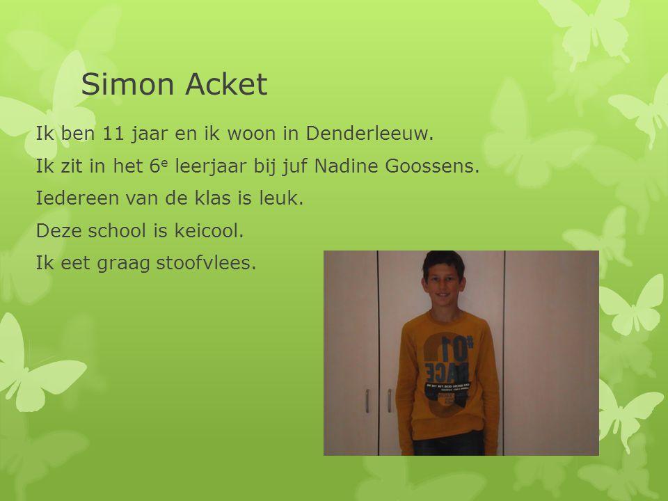 Simon Acket