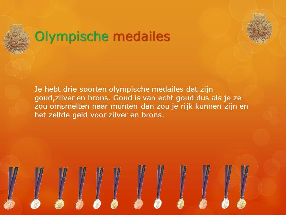 Olympische medailes