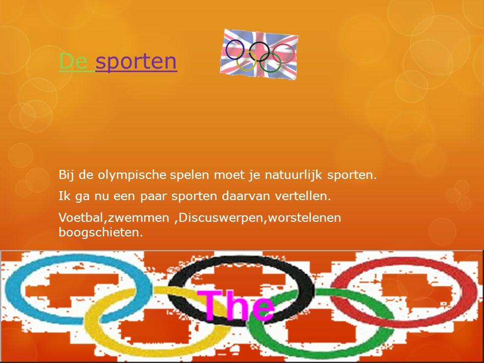 De sporten