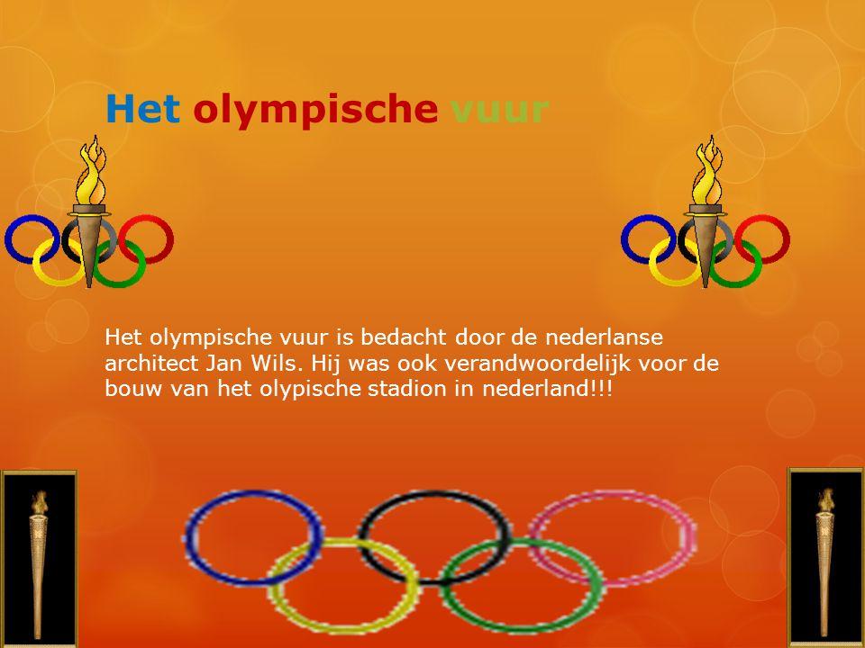 Het olympische vuur