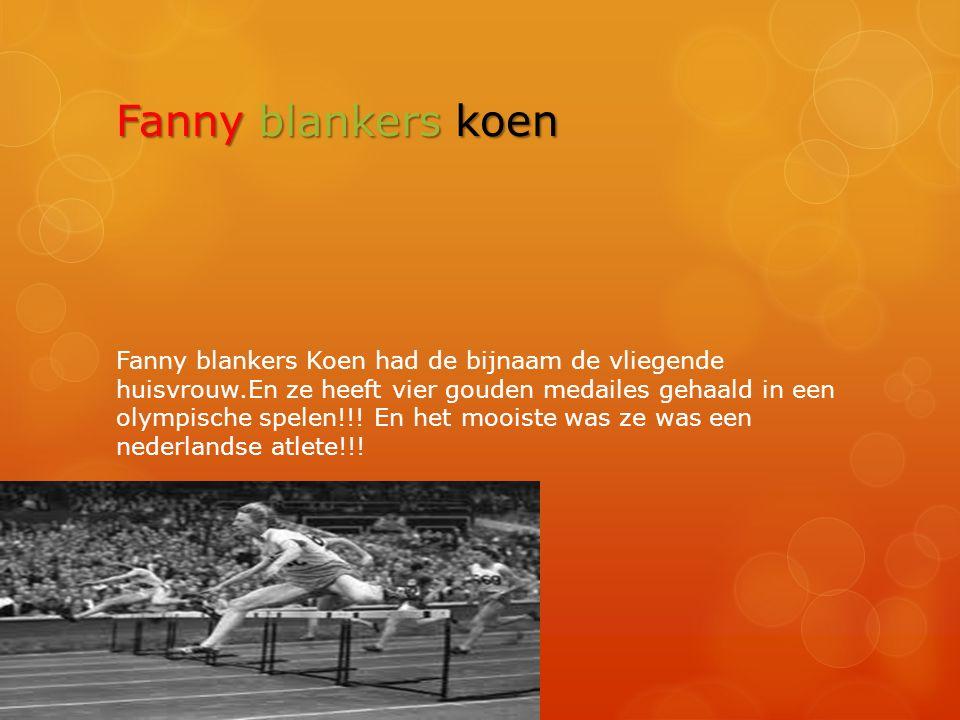Fanny blankers koen
