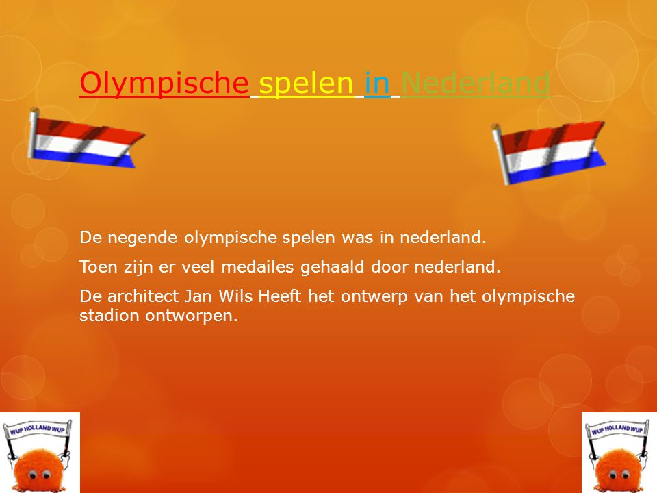 Olympische spelen in Nederland