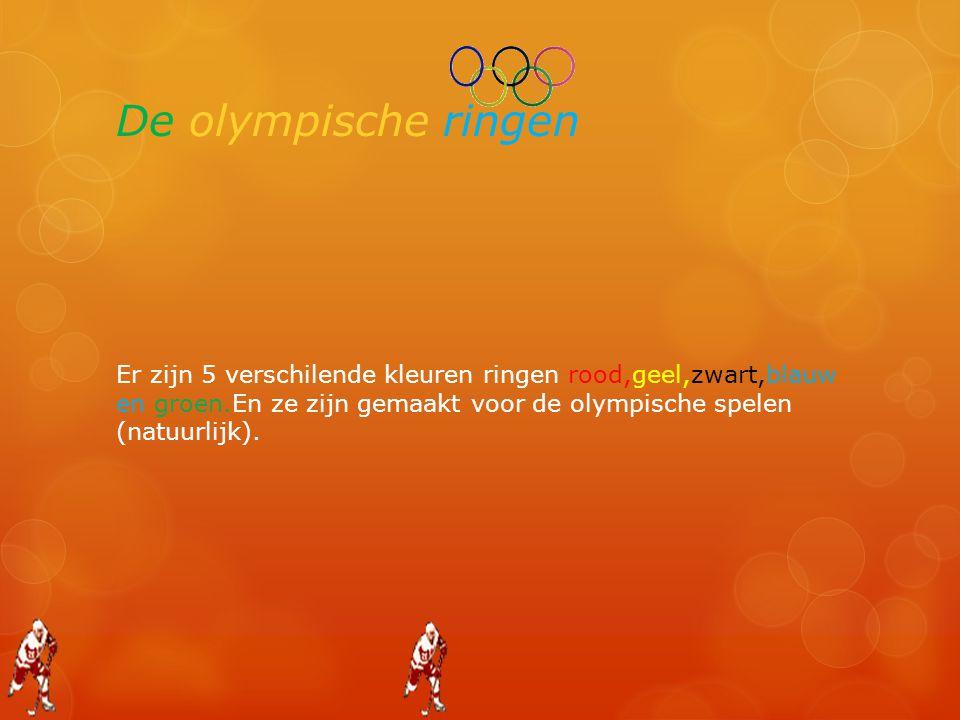 De olympische ringen