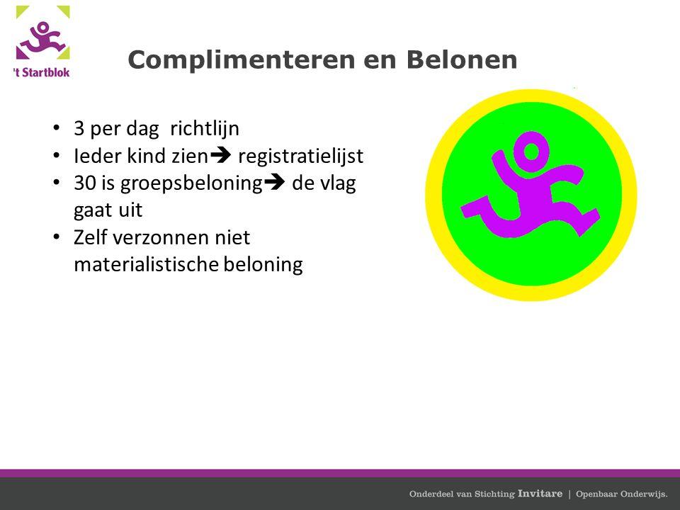 Complimenteren en Belonen
