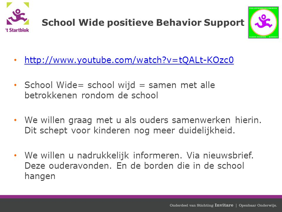 School Wide positieve Behavior Support