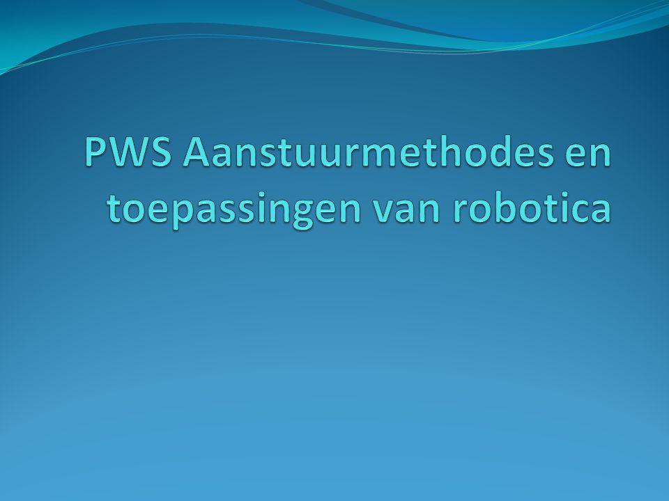 PWS Aanstuurmethodes en toepassingen van robotica