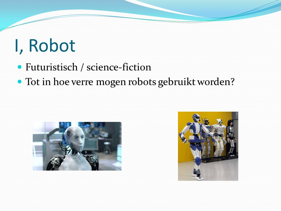 I, Robot Futuristisch / science-fiction