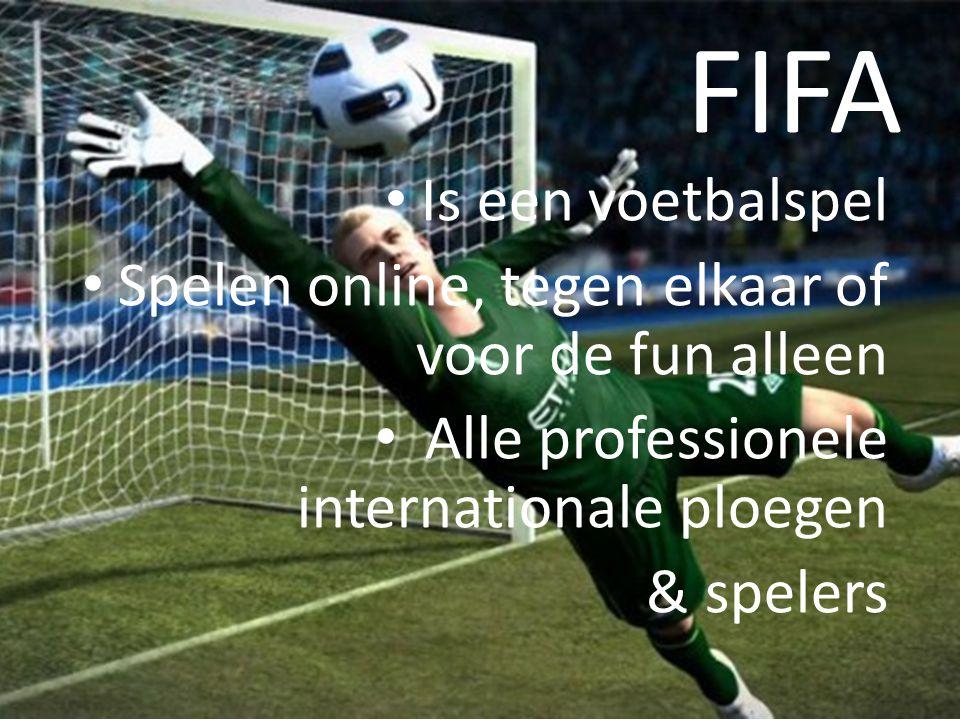 FIFA Is een voetbalspel