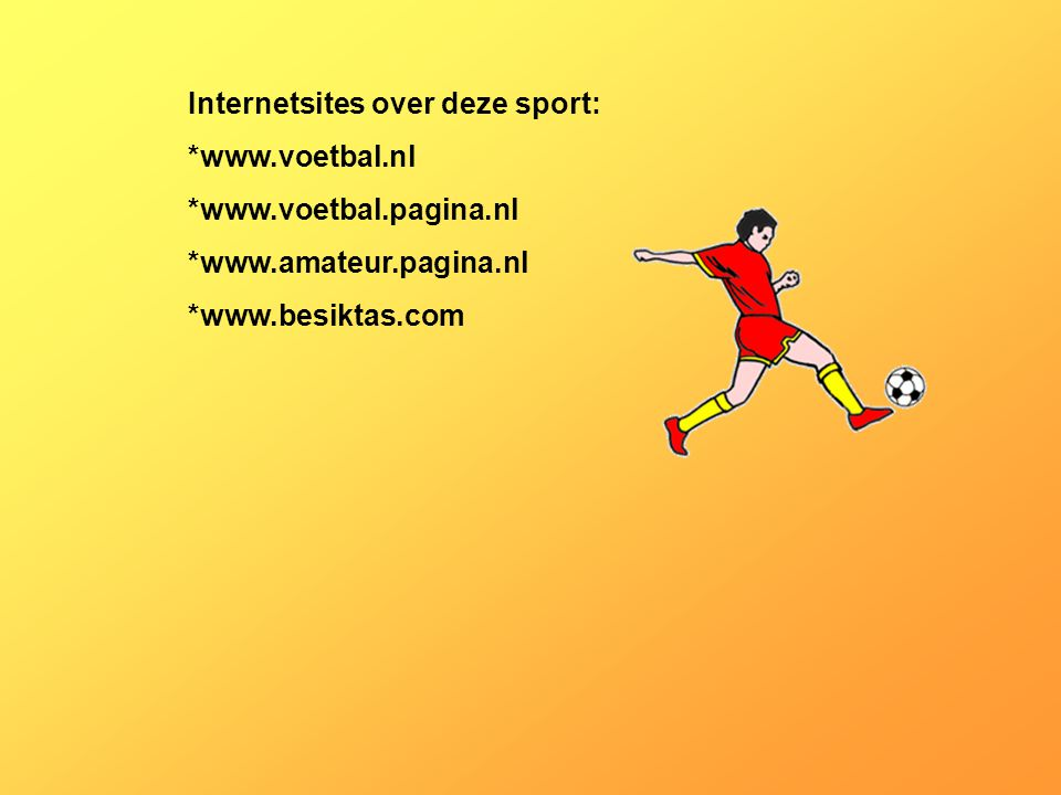 Internetsites over deze sport: *  *