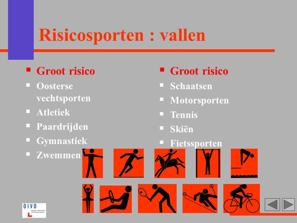 Risicosporten : vallen