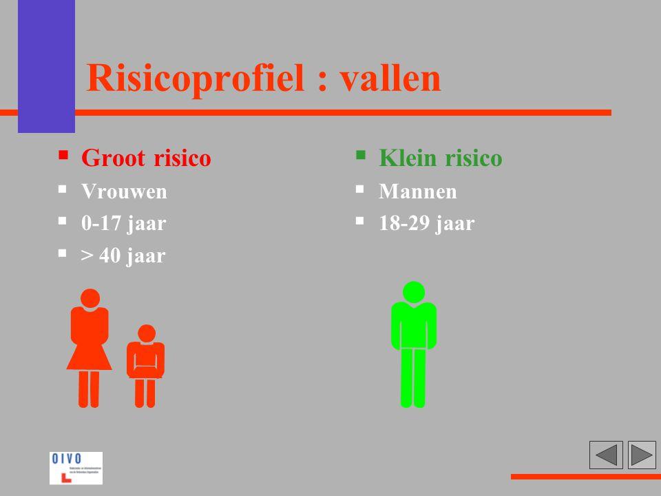 Risicoprofiel : vallen