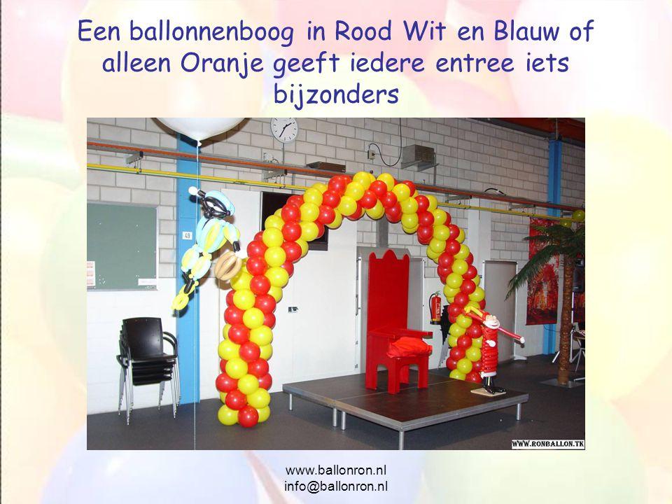 www.ballonron.nl info@ballonron.nl
