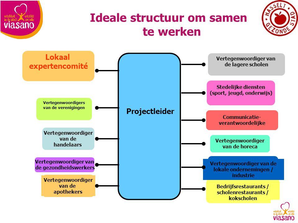 Ideale structuur om samen te werken